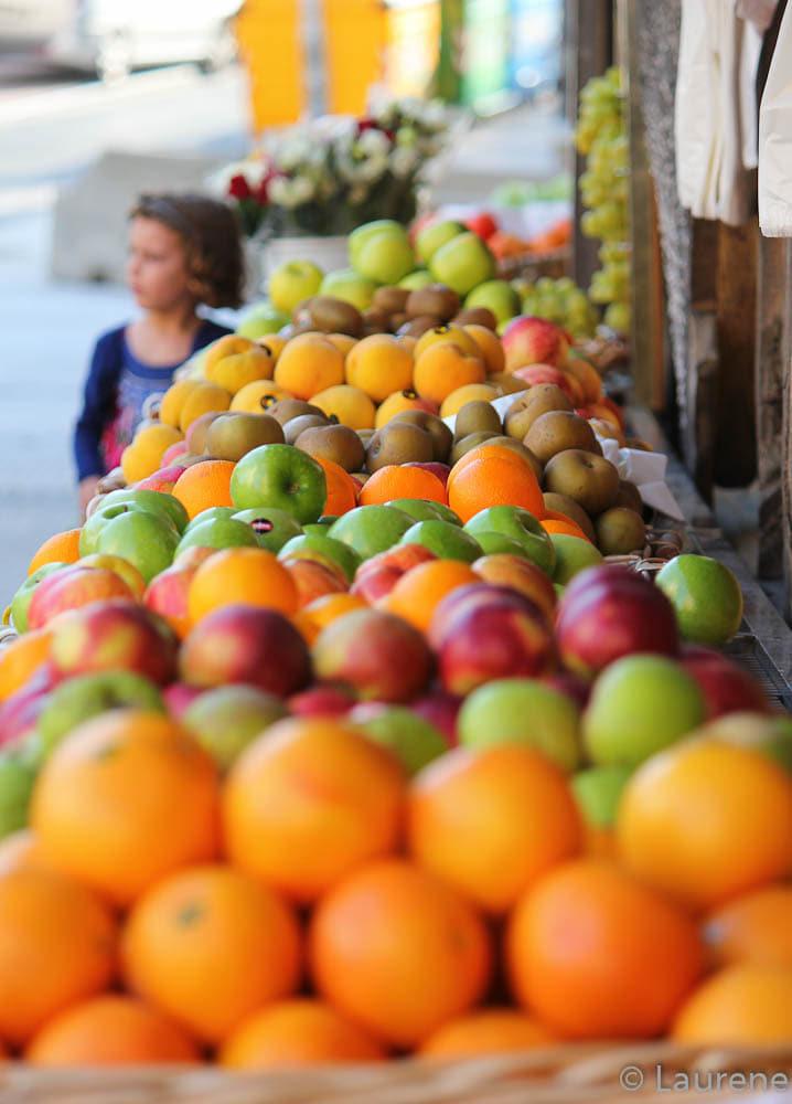 des fruits, de la couleur ...