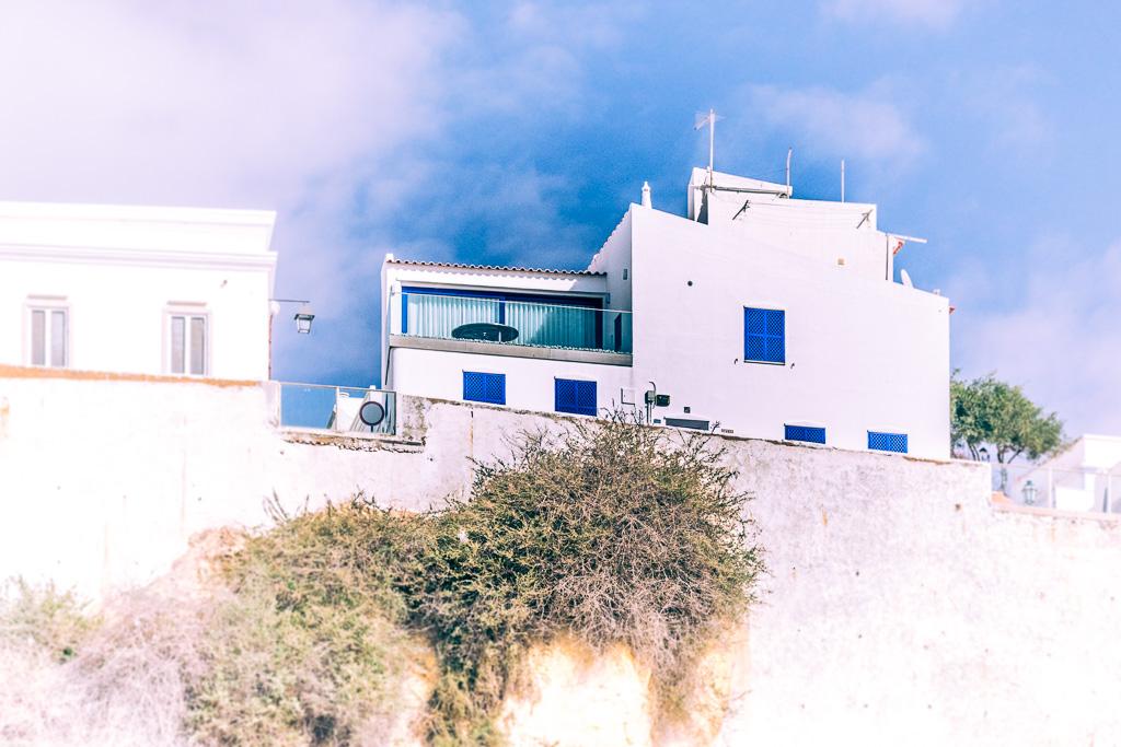 Albufeira - Maison sur la falaise
