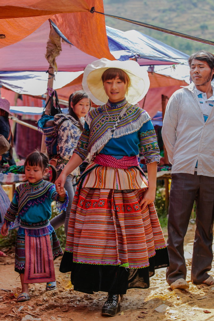 Jeune femme Hmong