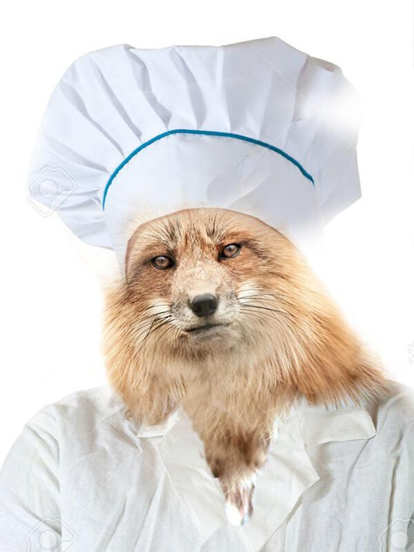 14172777-Portrait-de-femme-cuisinier-dans-toque-sur-fond-blanc-Banque-d'images copie