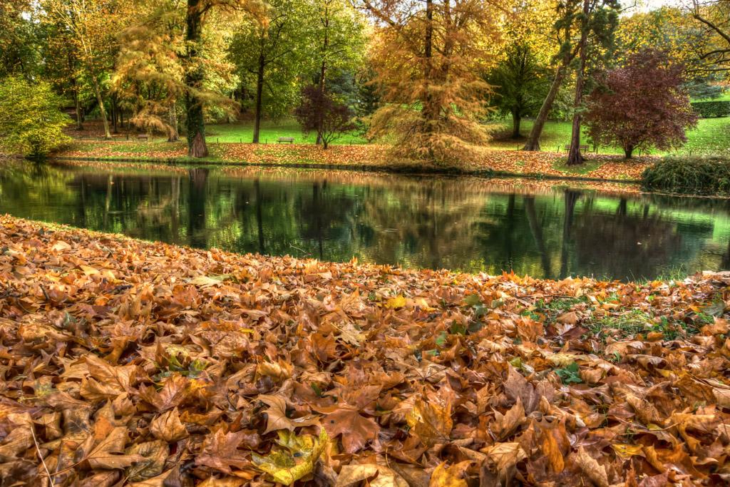 Le parc Meissonier, Poissy